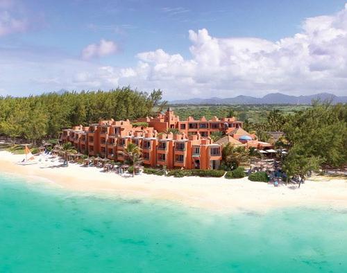 Hotel La Palmeraie on Mauritius Island