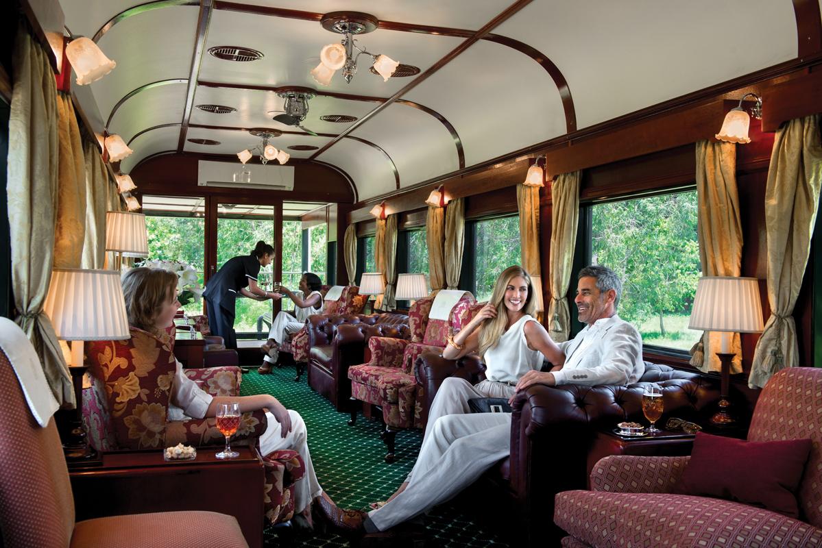 4 Day Pretoria to Victoria Falls by Luxury Train