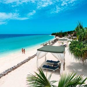 Top beach in Zanzibar at La Gemma Dell Est Zanzibar