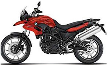 BMW F700GS Rental in Africa