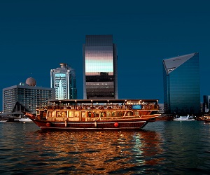 Dhow Cruise on Dubai Creek