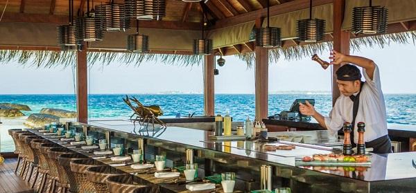 Kurumba Maldives Hamakaze Japanese Restaurant