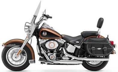 Harley Davidson Heritage Rental in Africa