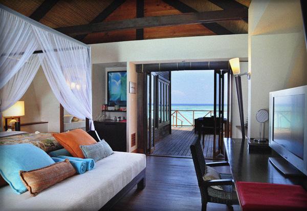 LUX Maldives Water Villa