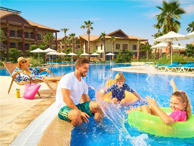 Family fun at Lapita Hotel Dubai