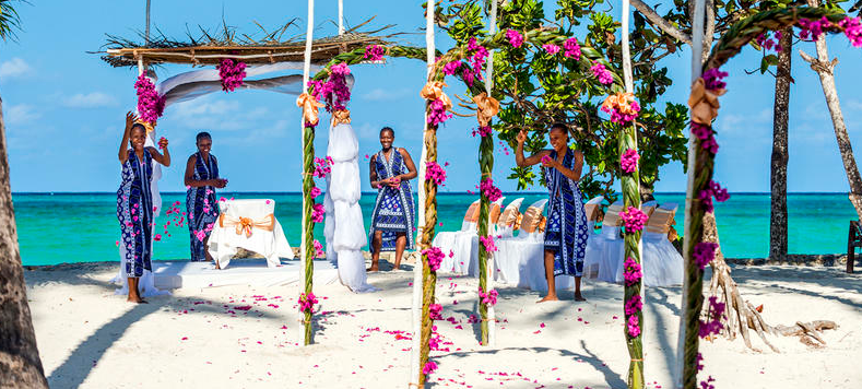Mapenzi Beach Club Wedding