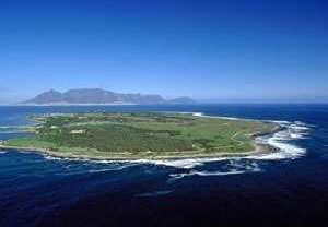 Robben Island by Helicopter