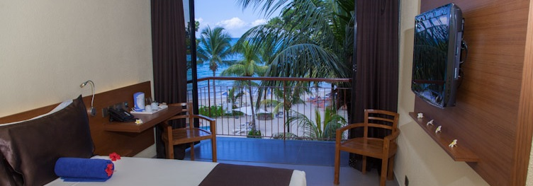 Coral Strand Hotel Standard Ocean View Room in Seychells Islands