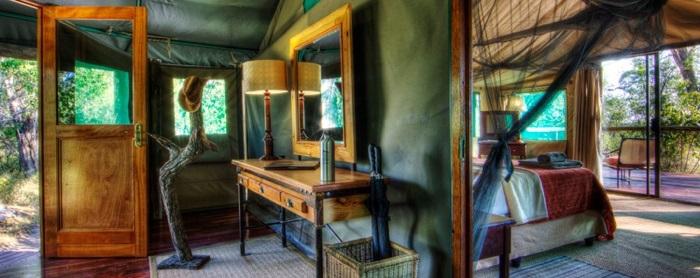 Camp Moremi Tent
