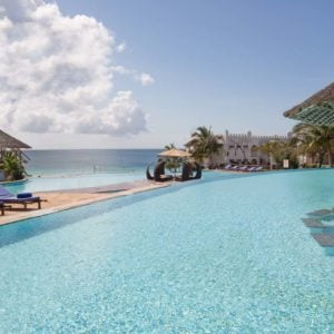 Pools at the Royal Zanzibar Beach Resort