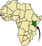 Kenya on the Map