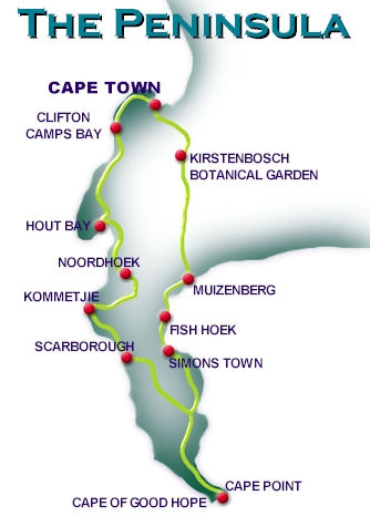 Cape Peninsula Tours in Cape Town