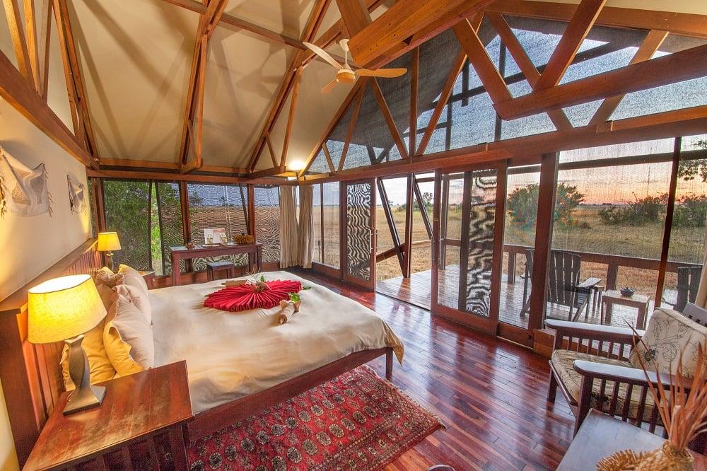 Spacious Tented rooms at Lebala Camp