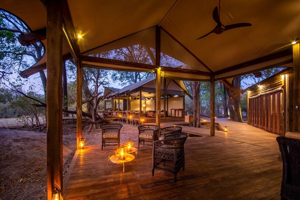 Tented Safari Camp in Botswana