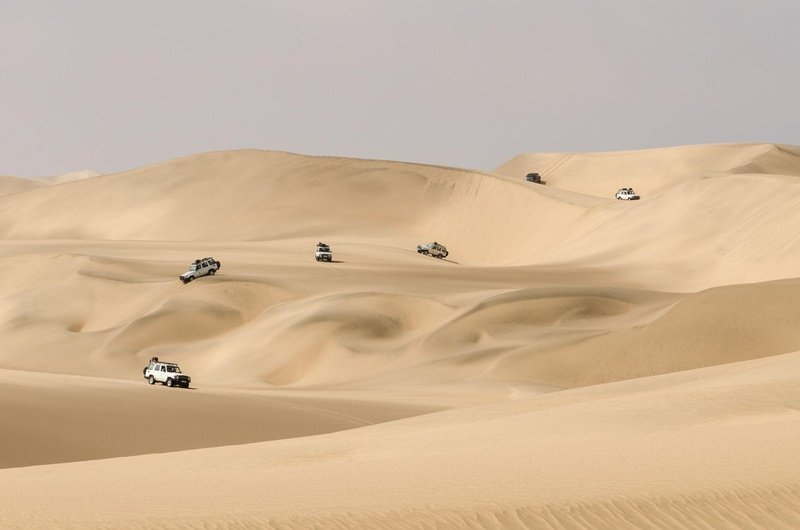 Self Drive Group Expedition in to the Namib Desert