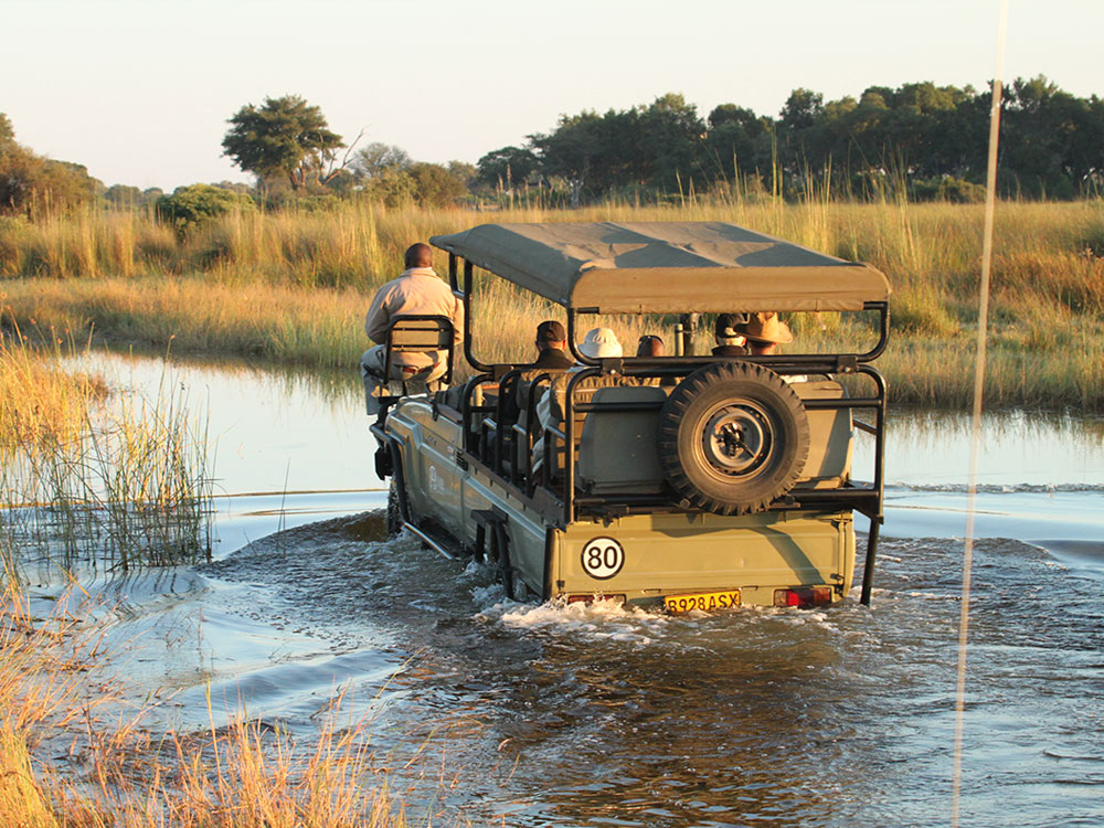 Kwara Camp Okavango Delta Fly-in